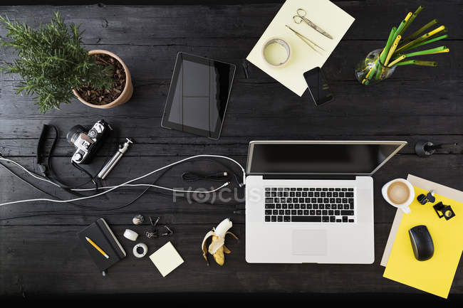 Arbeitsplatz im Homeoffice — Stockfoto
