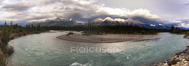 Canada, British Columbia, panoramic view of Kootenay National Park — Stock Photo