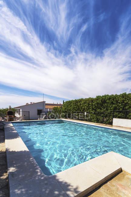 Spagna, Andalusia, Finca e piscina — Foto stock