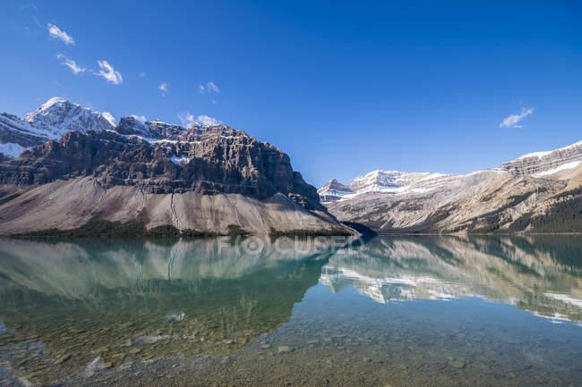 Kanada, Alberta Banff National Park, Bow Lake — Stockfoto