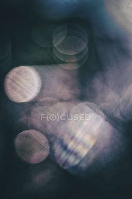 Abstract, light points, blured motion — Stock Photo