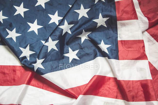 Vista della bandiera USA-americana, da vicino — Foto stock