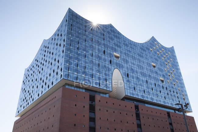 Німеччина, Гамбург, подання до Elbphilharmonie денний час — стокове фото