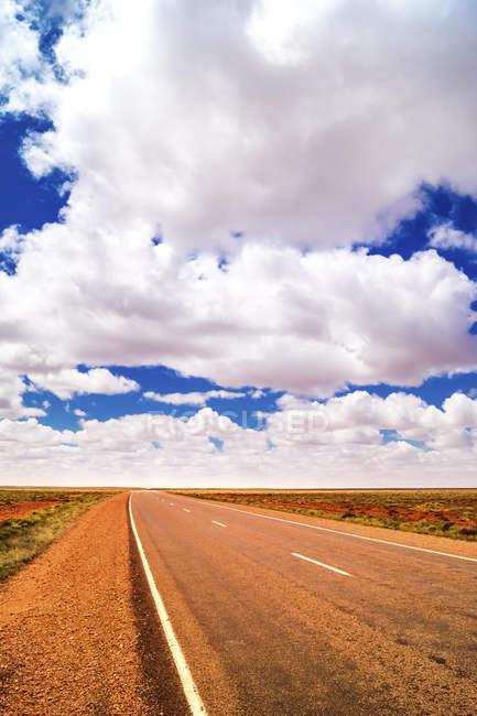 Australia, Northern Territory, road in rural landscape — Stock Photo