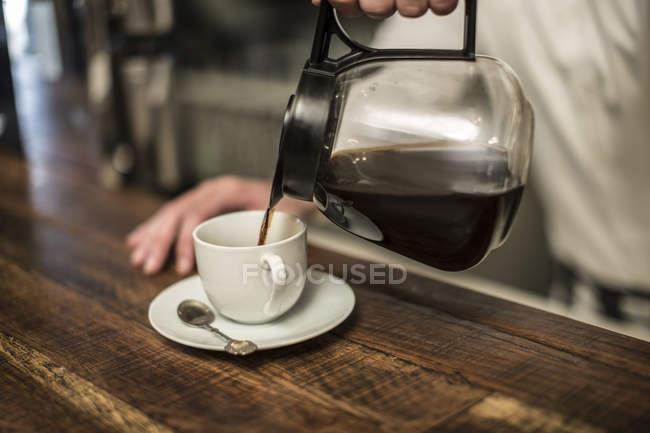 Заливки на чашку кави — стокове фото