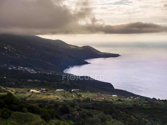 Espanha, Costa de la Palma, Ilhas Canárias em Barlovento — Fotografia de Stock