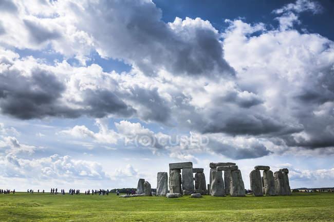 Regno Unito, Inghilterra, Wiltshire, Stonehenge durante il giorno — Foto stock