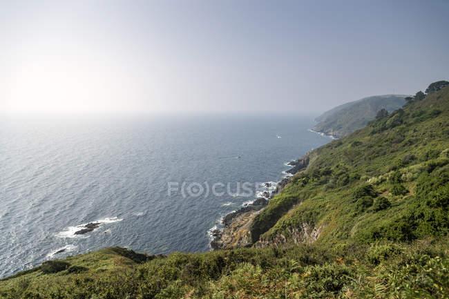 Inghilterra, Polperro, Cornwall, Regno Unito, Costa del sud — Foto stock