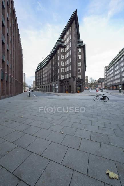 Germania, Amburgo, vista al Cile House durante il giorno — Foto stock