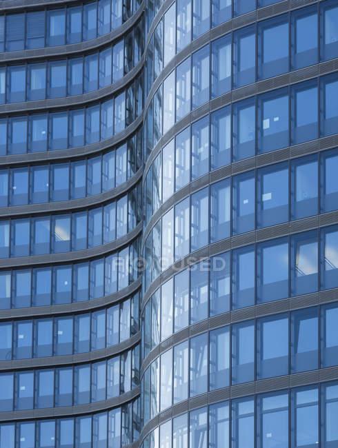 Фасад Австрії, Відень, штаб-квартира австрійської федеральні залізниці — стокове фото