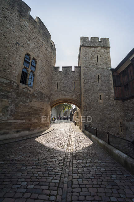 Regno Unito, Inghilterra, Londra, Torre di Londra, vista interna — Foto stock