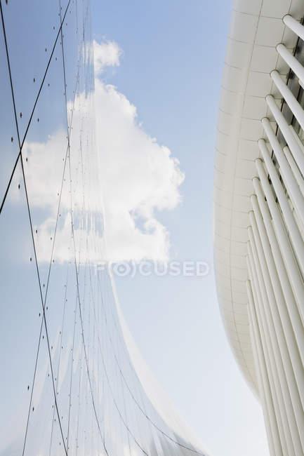 Luxemburg, Kirchberg, Philharmonie Luxembourg, Architekt Christian de Portzamparc — Stockfoto