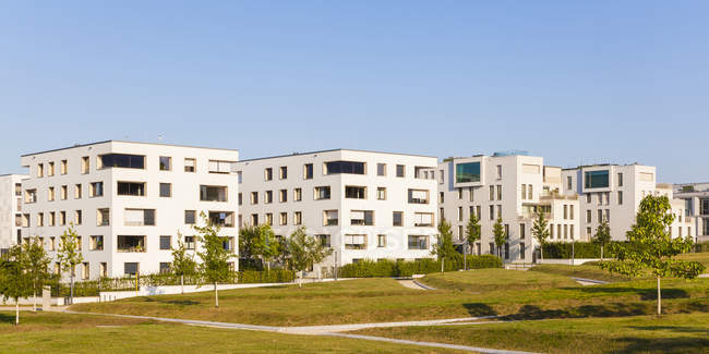 Germany, Baden-Wuerttemberg, Stuttgart, Killesberg. Premium freehold flats — Stock Photo