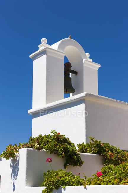 Spain, Canary Islands, Lanzarote, Church Santo Cristo de las Aguas — стокове фото