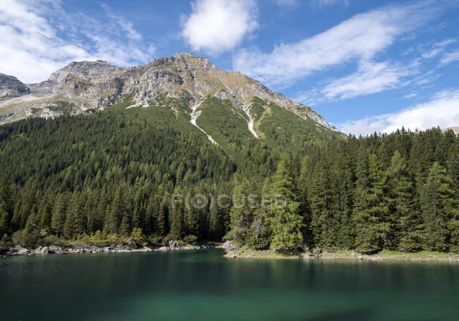 Австрия, Тироль, Обернберг в горах — стоковое фото