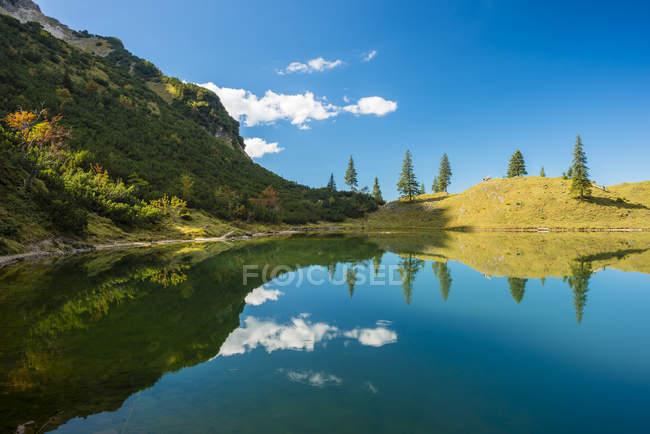 Germany, Bavaria, Allgaeu, Allgaeu Alps, Unterer Gaisalpsee — Fotografia de Stock