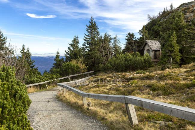 Allemagne, Bavière, Parc National de forêt bavaroise, grand Arber, chapelle — Photo de stock