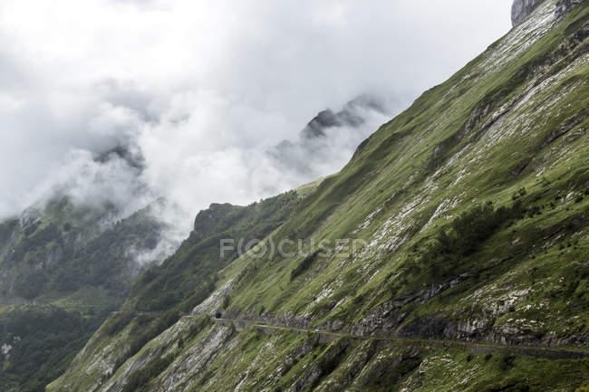 Francia, Alti Pirenei, Passo del Col dAubisque — Foto stock