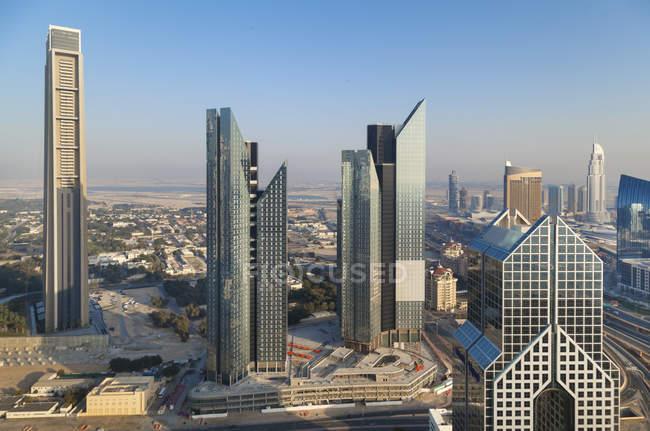 Объединенные Арабские Эмираты, Дубай, Downtown Dubai в дневное время — стоковое фото