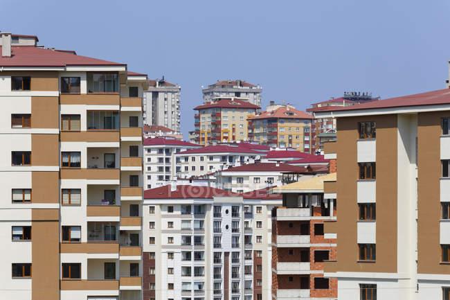 Turkey, Black Sea Region, Trabzon, development area during daytime — Stock Photo