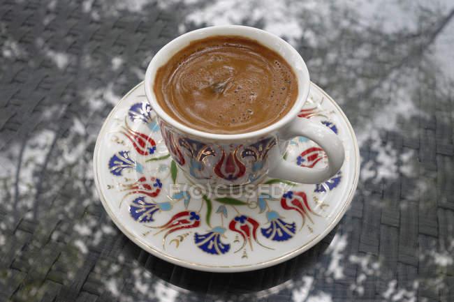 Turchia, tazza di turco caffè — Foto stock