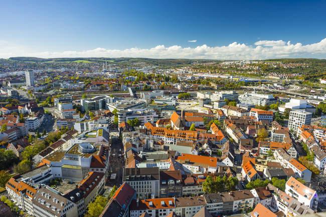 Deutschland, baden-wuerttemberg, stadtbild der stadt ulm — Stockfoto