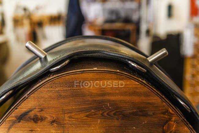 Vaulring ремень на стенде седло в шорные изделия — стоковое фото