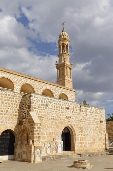 Türkei, Anatolien, Süd-Ost Anatolien, Provinz Mardin, Klosterkirche Mor Abraham — Stockfoto