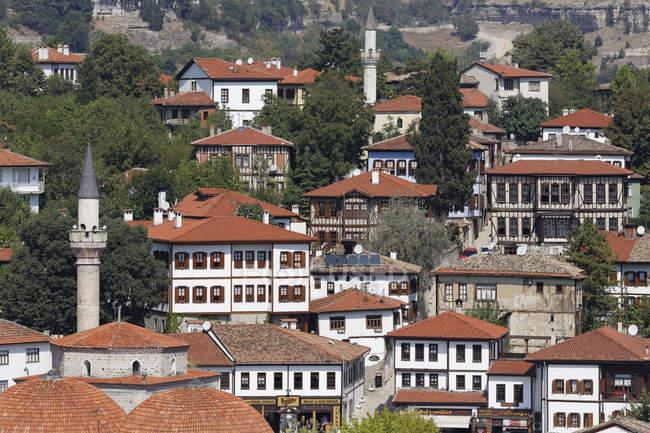 Турция, провинция Karabuek, Сафранболу, город с традиционной османской konaks — стоковое фото