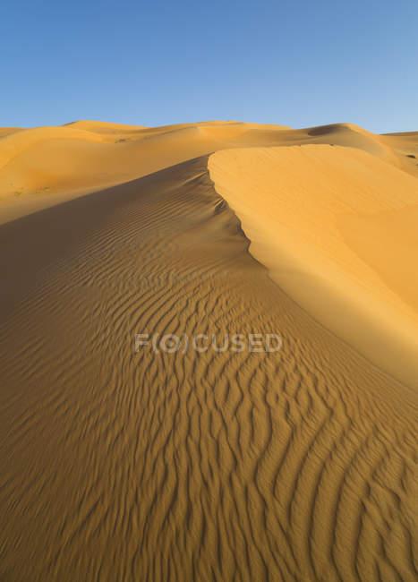 United Arab Emirates, Dubai, Rub al-Khali desert, the empty quarter — Stock Photo