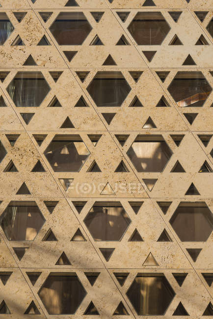 Germania, Baden-Wuerttemberg, Ulm, stelle di David alla Nuova Sinagoga — Foto stock