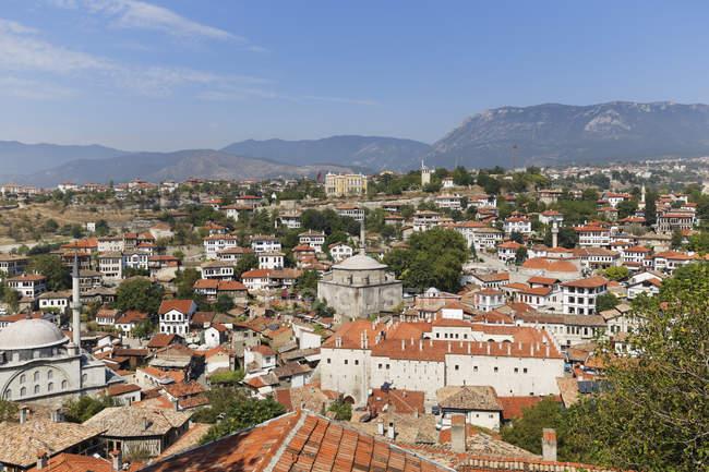 Турция, провинция Karabuek, Сафранболу, город с караван Cinci Han — стоковое фото