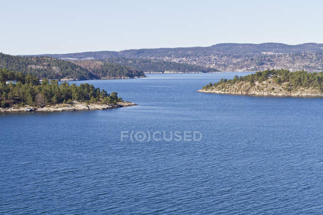 Scandinavie, Norvège, Oslo, fjord d'Oslo et côte — Photo de stock