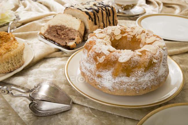 Italian almond cakes — Stock Photo