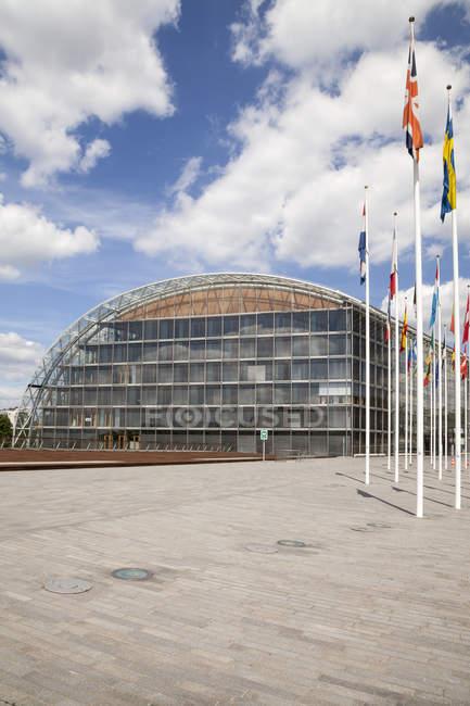 Люксембург, Люксембурга, Європейський квартал, Європейський інвестиційний банк — стокове фото