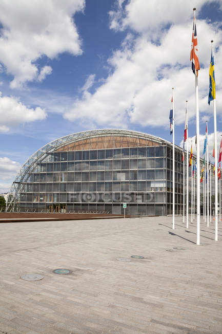 Luxemburgo, cidade de Luxemburgo, Europeia trimestre, Banco Europeu de investimento — Fotografia de Stock