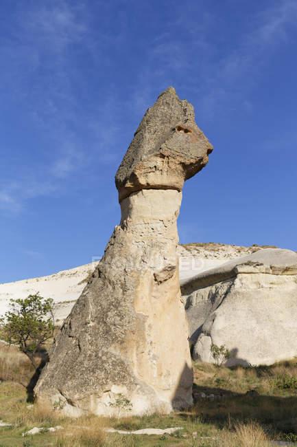 Turkey, Cappadocia, Goereme, Pasabag, Fairy chimney, Goereme National Park — Stock Photo