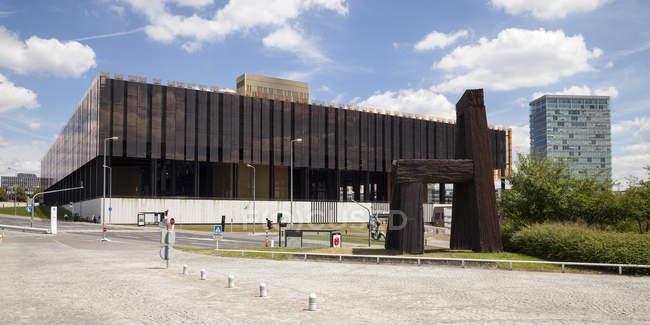 Luxemburgo, Luxemburgo, cidade, bairro, Europeu Tribunal de Justiça — Fotografia de Stock
