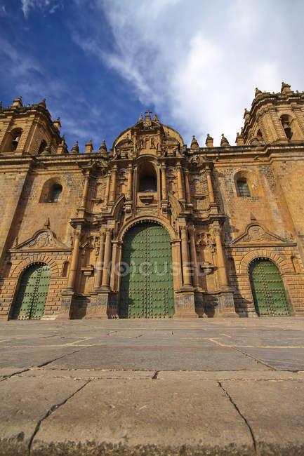 Південної Америки, Перу, Куско, собор — стокове фото