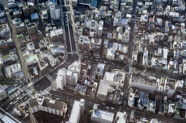 Japon, Tokyo, skyline et vue des bâtiments — Photo de stock