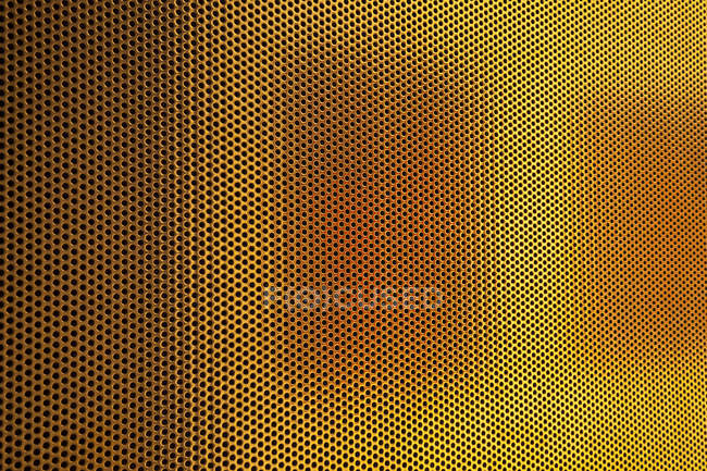 Light shining on metal wall — Stock Photo