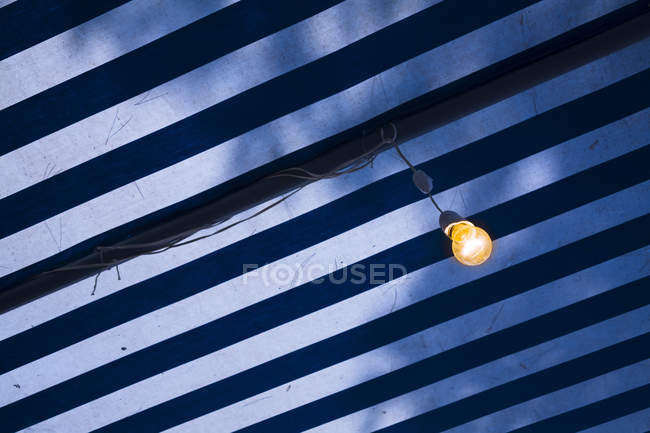 Croatia, Marcise, view of lamp against sky — Stock Photo