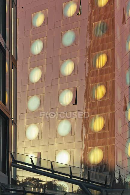 Німеччина, Гамбург, Санкт-Паулі, частиною фасаду дизайн-готелі — стокове фото