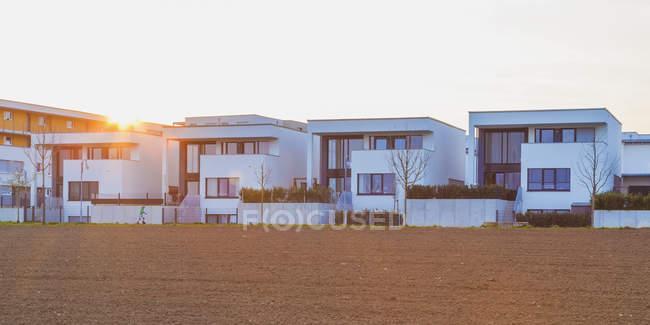 Germania RF, Ludwigsburg, area di sviluppo, case unifamiliari — Foto stock