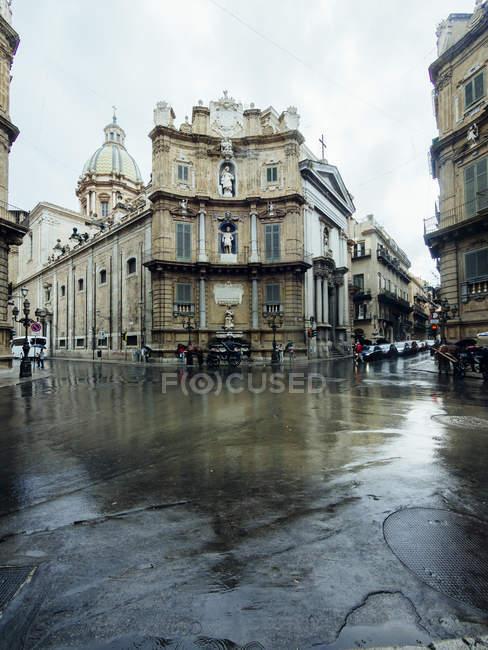 Італія, Сицилія, Палермо, старого міста, денний час, Via Romana — стокове фото