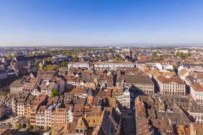Francia, Alsazia, Strasburgo, centro storico, Mostra di Minster — Foto stock