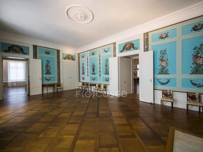Германия, Eutin, Eutin Castle, Showrooms with historic interiors — стоковое фото