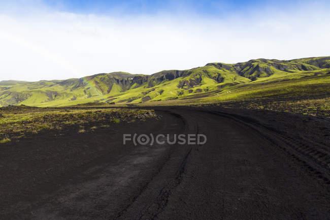 Исландия, Sudurland, район Landmanalauger, горный регион в дневное время — стоковое фото