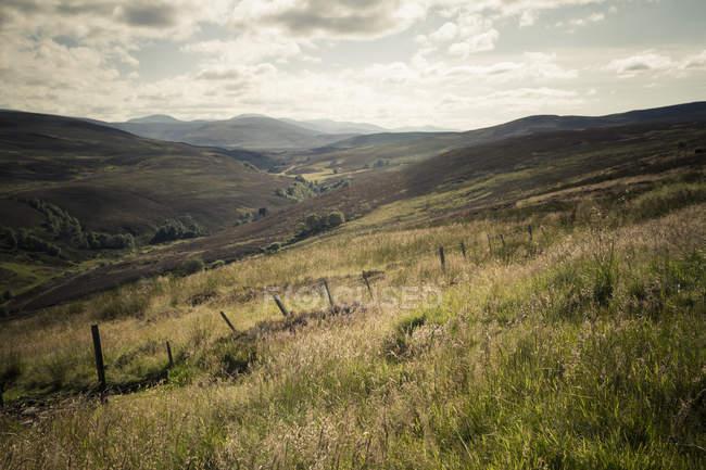 Großbritannien, Schottland, Landschaft bei Invernessshire — Stockfoto