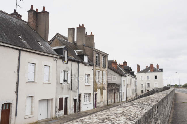 France, Blois, View of residential houses at Loir et Cher — Stock Photo